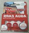 "Aqua Ears ""Cars Soft Silicone Ear Plugs - 3 Pairs in Box - N"