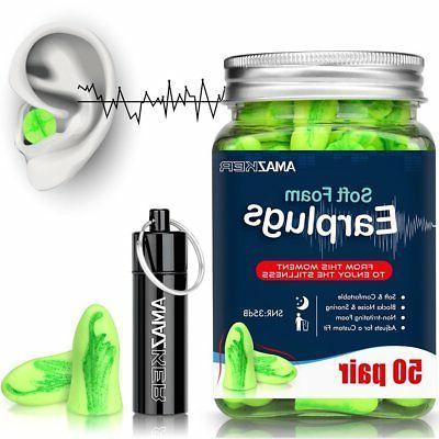 Ear Plugs AMAZKER Ultra Earplugs for