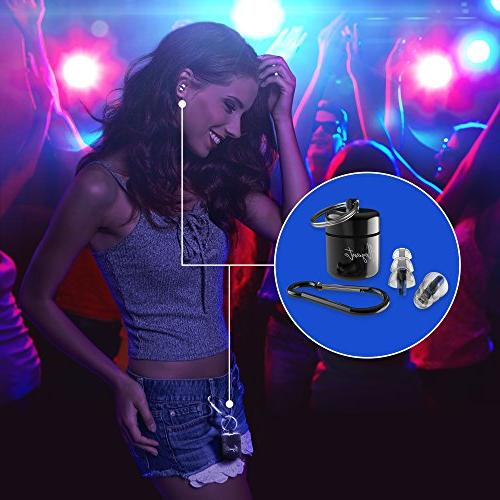 Alegante Noise Reduction Loud Protection, Silicone Shooting, Musician Concerts, for Sleeping, Swimming and Travel