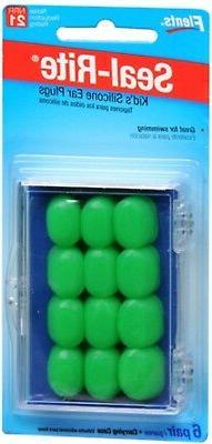 Ear Plugs Kids Soft Silicone - 6 Pairs, by Ear Plugs