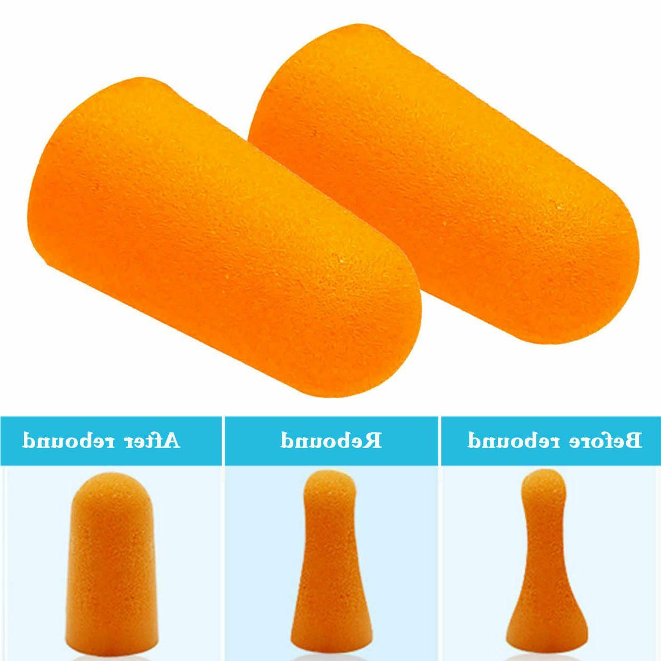 EarPlugs Orange Soft NRR 32DB Noise