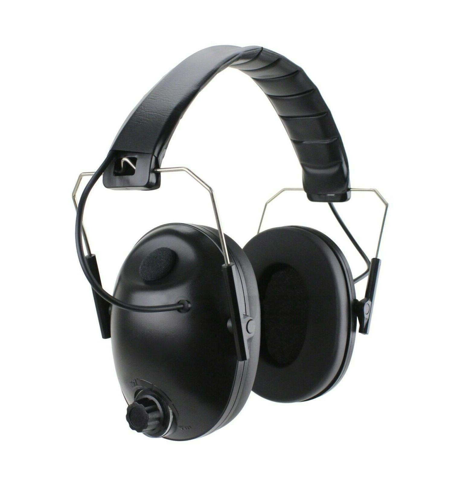 ELECTRONIC SMART NOISE CANCELING EARMUFF REDUCTION EAR & EYE