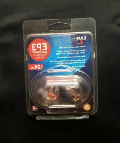 ep3 sonic defenders filtered earplugs