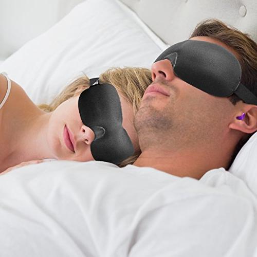 Drift Mask with 2 Soft Moldex Plugs Comfortable Unisex Mask