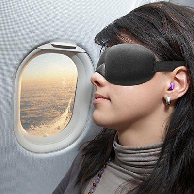 Drift Mask with 2 Pairs Soft Foam Plugs Mask