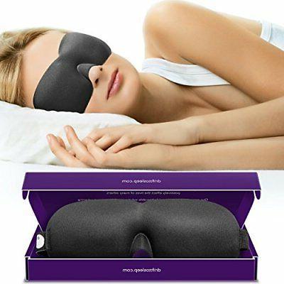 Drift Sleep Mask with 2 Soft Moldex Plugs Comfortable