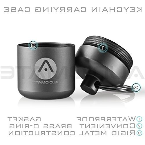 Audiomate Metal Carry and Interchangeable | Comfortable | HiFi Attenuating Ear for Concert,
