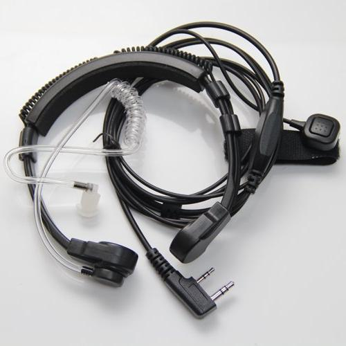flexible throat mic microphone covert