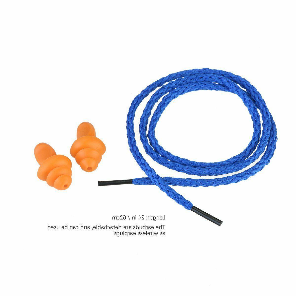 Foxnovo Soft Silicone Plugs Protection