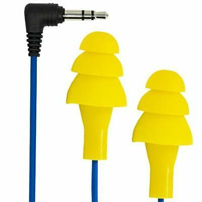 generation yellow ear plug earbuds