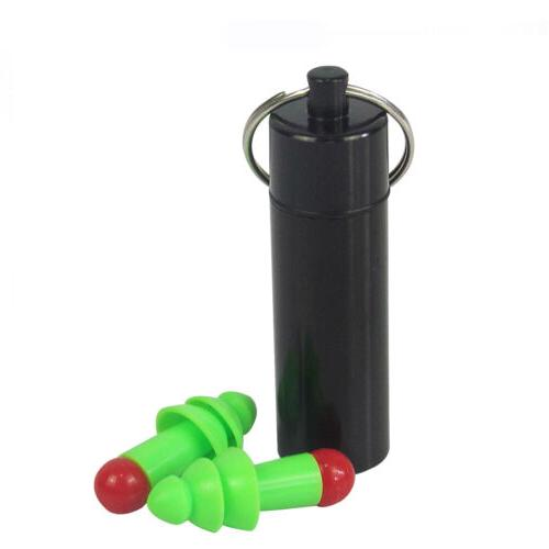 Tourbon Silicone Plugs Hearing Shooting Reusable