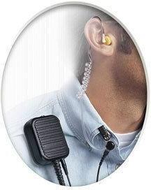 Hearplugs Listen Only Earpiece With 2.5MM Mono Plug Kit