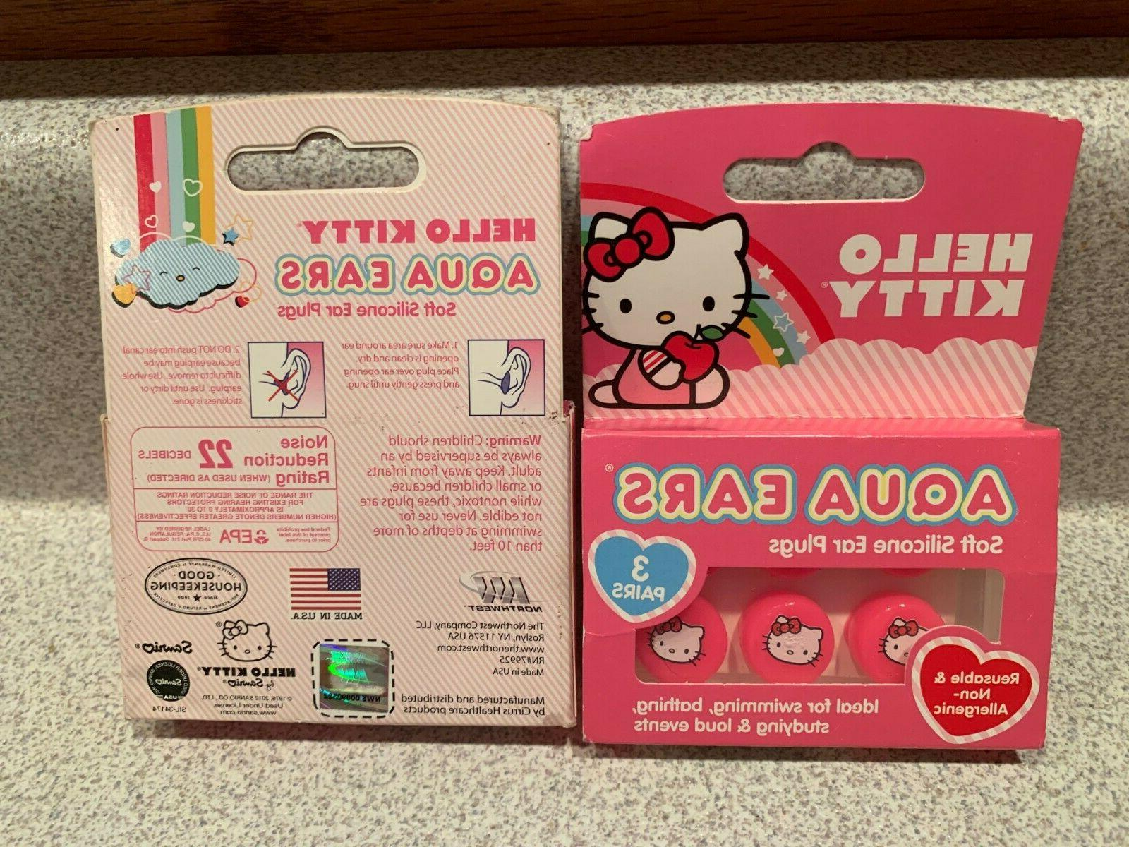 hello kitty soft silicone ear plugs