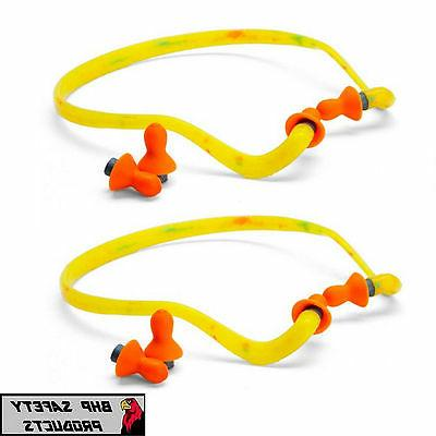 honeywell qb1hyg banded ear plugs hearing protection