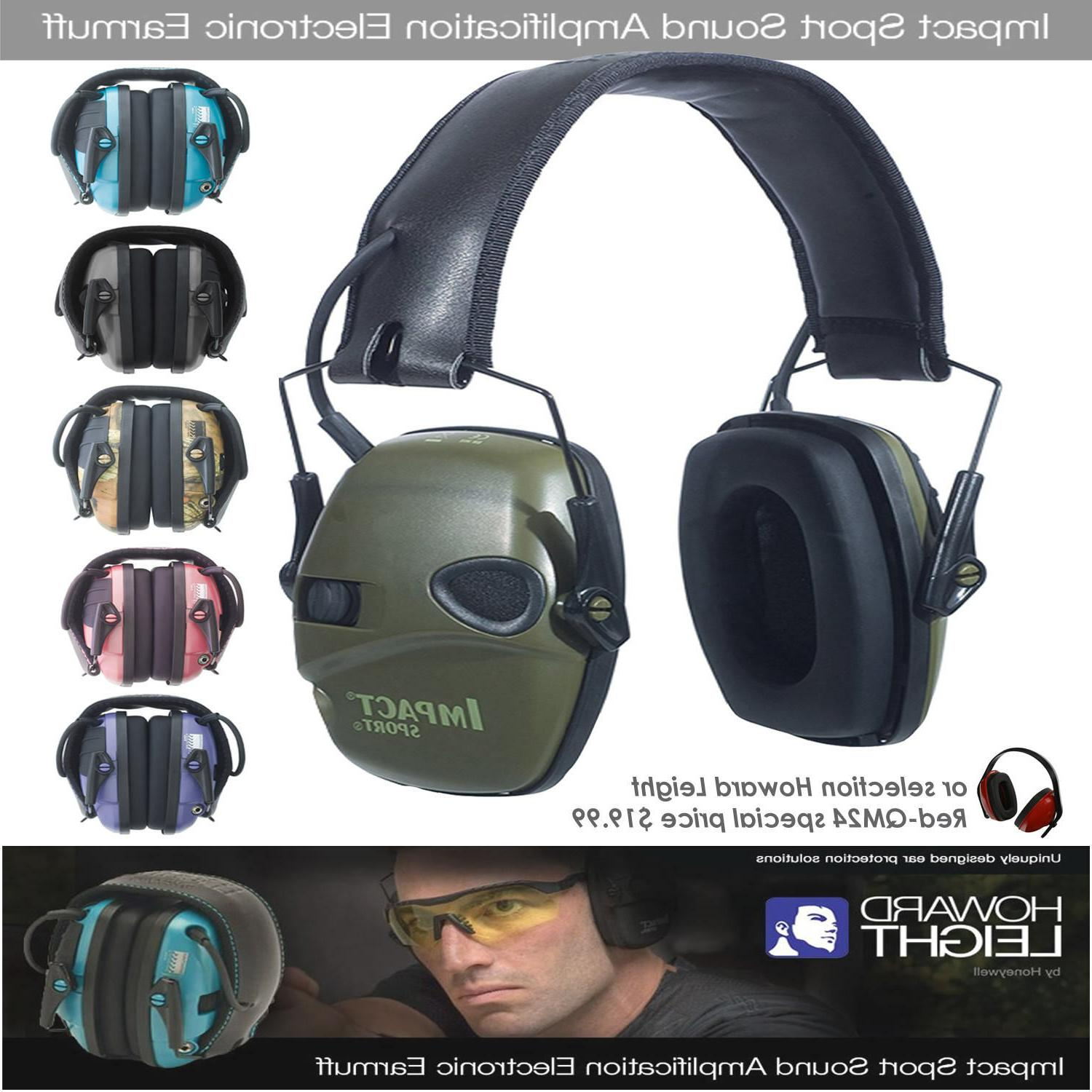 howard leight impact sport shooting noise ear