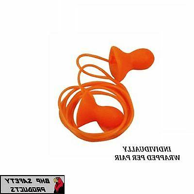 HOWARD LEIGHT QD30 QUIET REUSABLE CORDED EAR PLUGS NRR 26