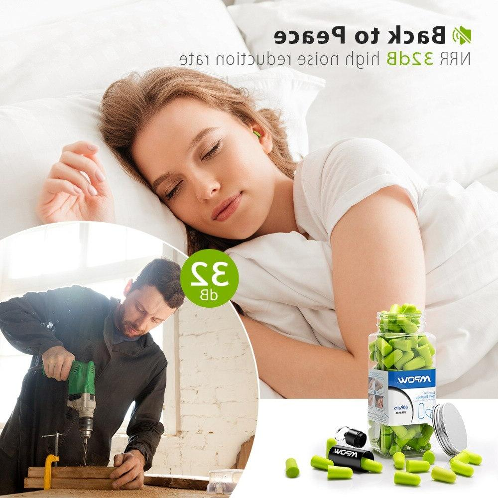 Mpow <font><b>Foam</b></font> Noise Blocker/Filter Protector 32dB Noise Carrying For Sleep