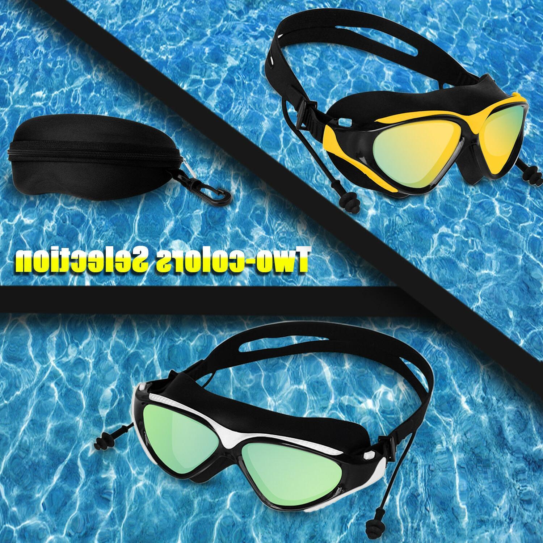 Mirror Swimming Swim Glasses UV with