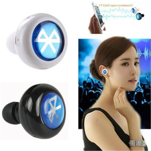 New MiNi Bluetooth Wireless In-Ear Headset Stereo Earphone M