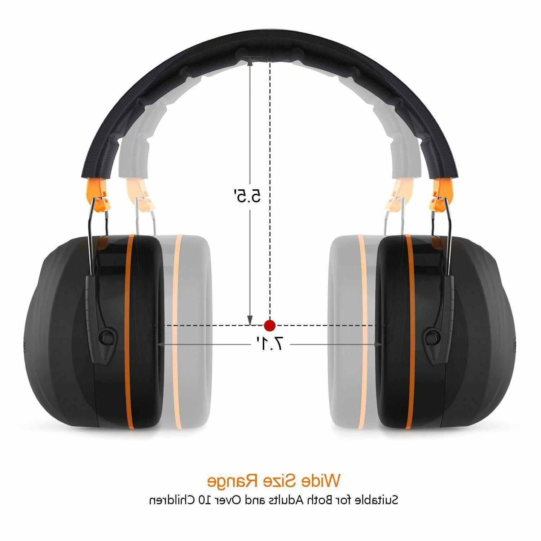 Noise Ear Tacklife 28dB Shooters Hearing Ear Muf