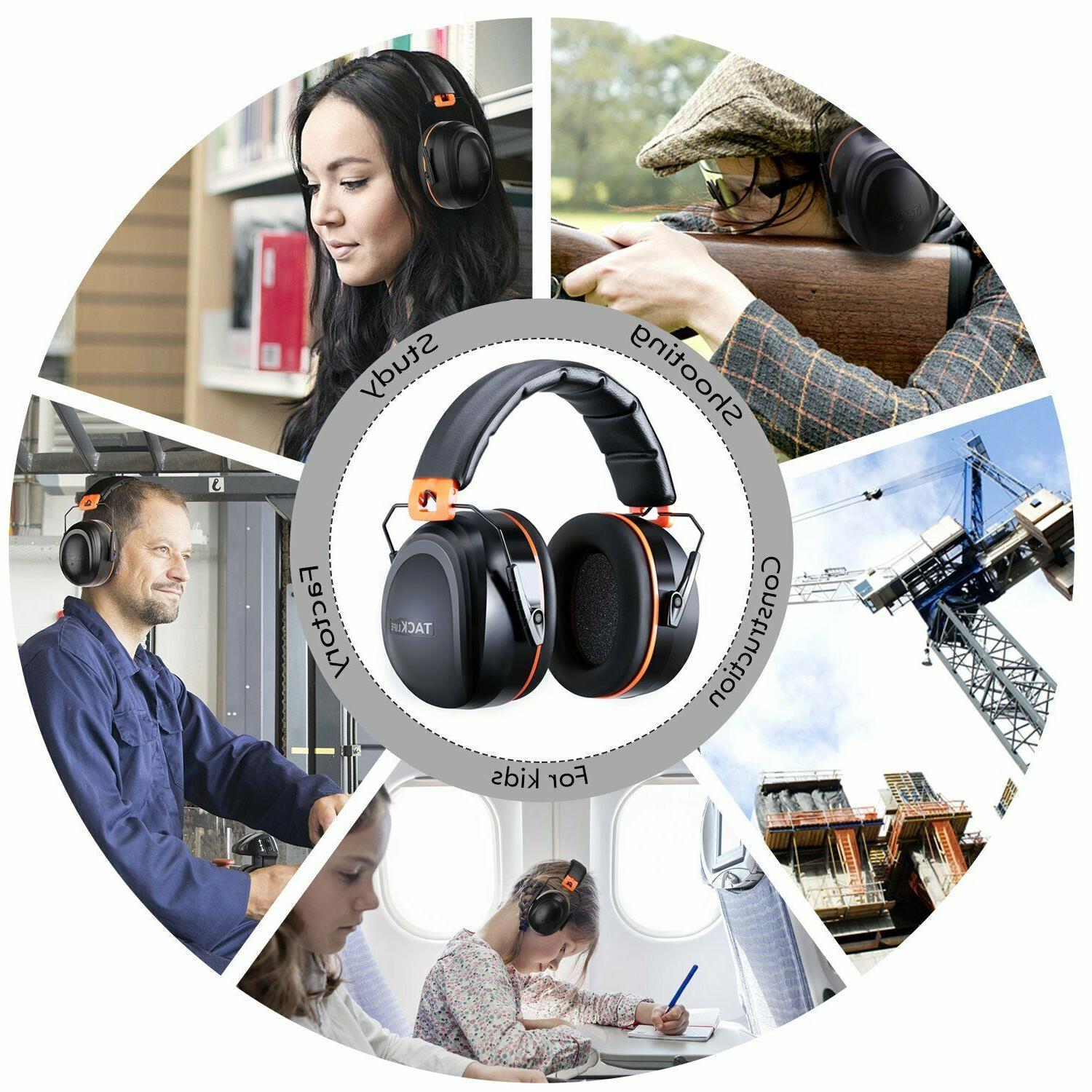 Noise Reduction Ear Tacklife NRR Hearing Protection