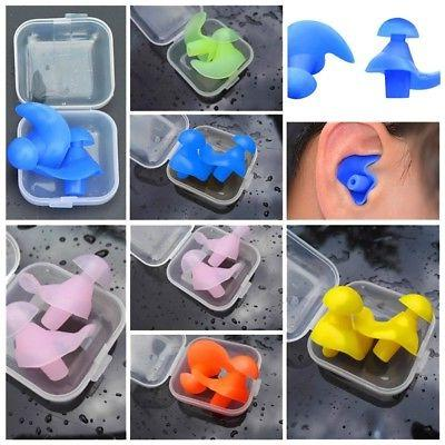 silicone earplugs swimming diving ear plugs multi