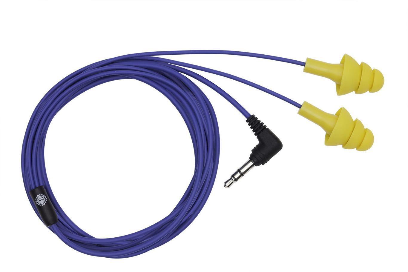 original yellow earplugs headphones