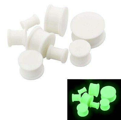 PAIR-SOLID LARGE Ear Skins-Soft Plugs-Ear