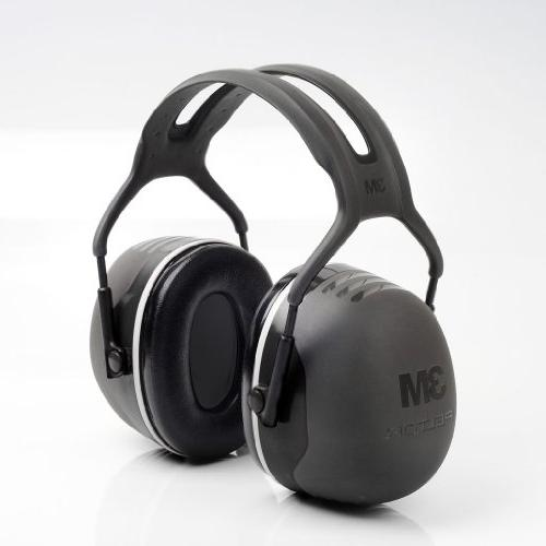 3M Peltor X-Series Earmuffs, NRR dB, One Size Fits Black X5A