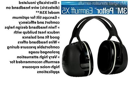 3M X-Series One Size Black X5A