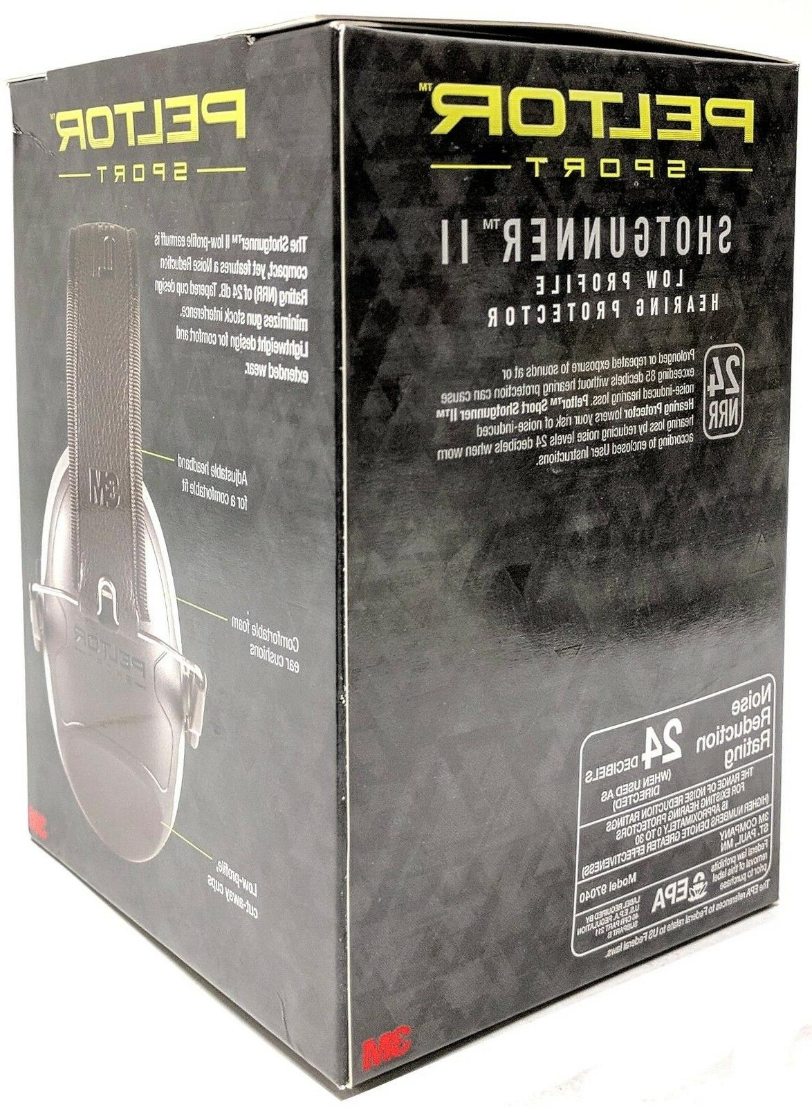 3M II Low Protection Earmuffs