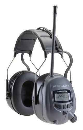 3M Peltor WorkTunes Digital Hearing Protector, MP3 Compatibl