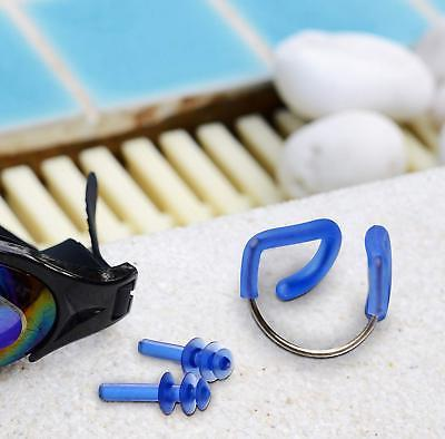 Silicone Nose Clip Plugs Set with Adults Kids Water Swim