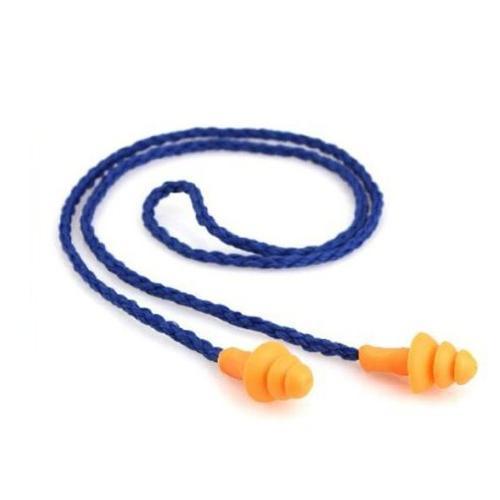 Foxnovo 10 Pairs Soft Corded Plugs Earplugs