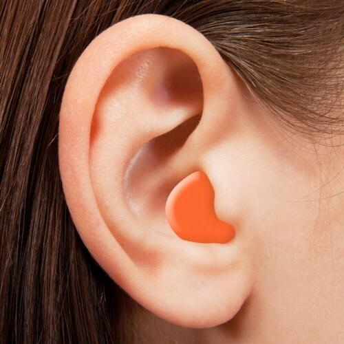 Soft Silicone Ear Plugs Comfortable Sleeping Anti Snore Aid