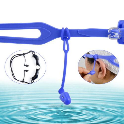 Soft Silicone Swimming Equipment Blue