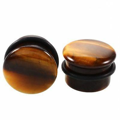 Stone Size 6-15mm Taper Plug Stretcher Ear Weights