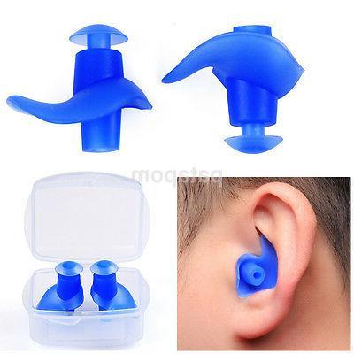 summer adults children spiral silicone screw earplugs