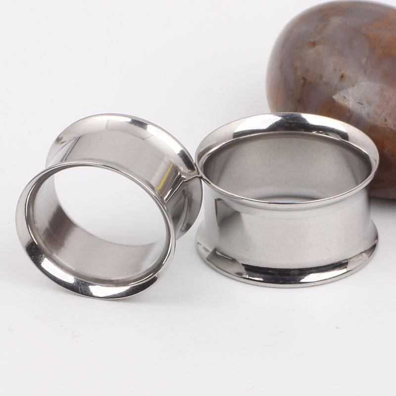 Surgical Steel Stretchers <font><b>Plugs</b></font> and Pulley Auricular Earrings Expander Titanium Jewelry