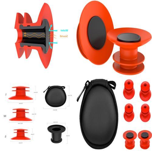 swimming earplugs waterproof soft silicone sports ear