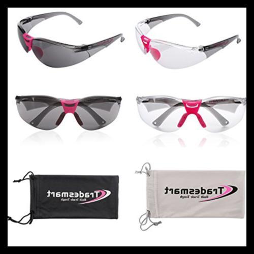 TRADESMART Shooting Ear Earmuffs Glasses Clear UV40