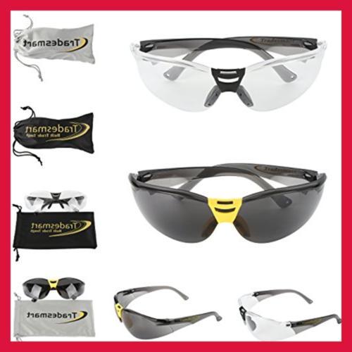 TRADESMART Muffs Protective Glasses & Earplugs UV40