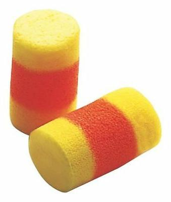 Uncorded Ear Plugs, 30dB Rated, Disposable Cylinder Shape, P