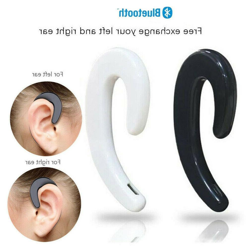 V4.2 Bluetooth Earphones Wireless Headset Non Ear Plug Painl