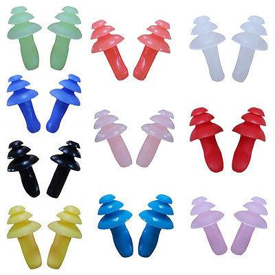 Waterproof Swimming Earplugs Ear Protection Soft Silicone So