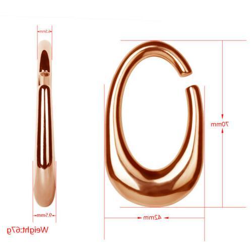 1 Pair Weight Gold Ear Ear Ear Gauges