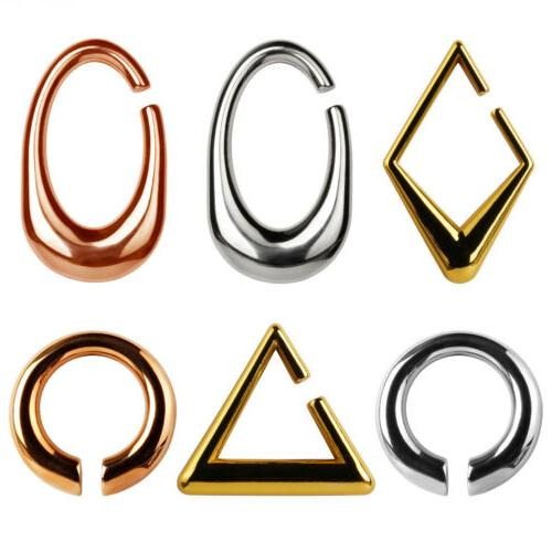 Weight Gold Ear Pendants Ear Plugs and Piercing Body Jewelry