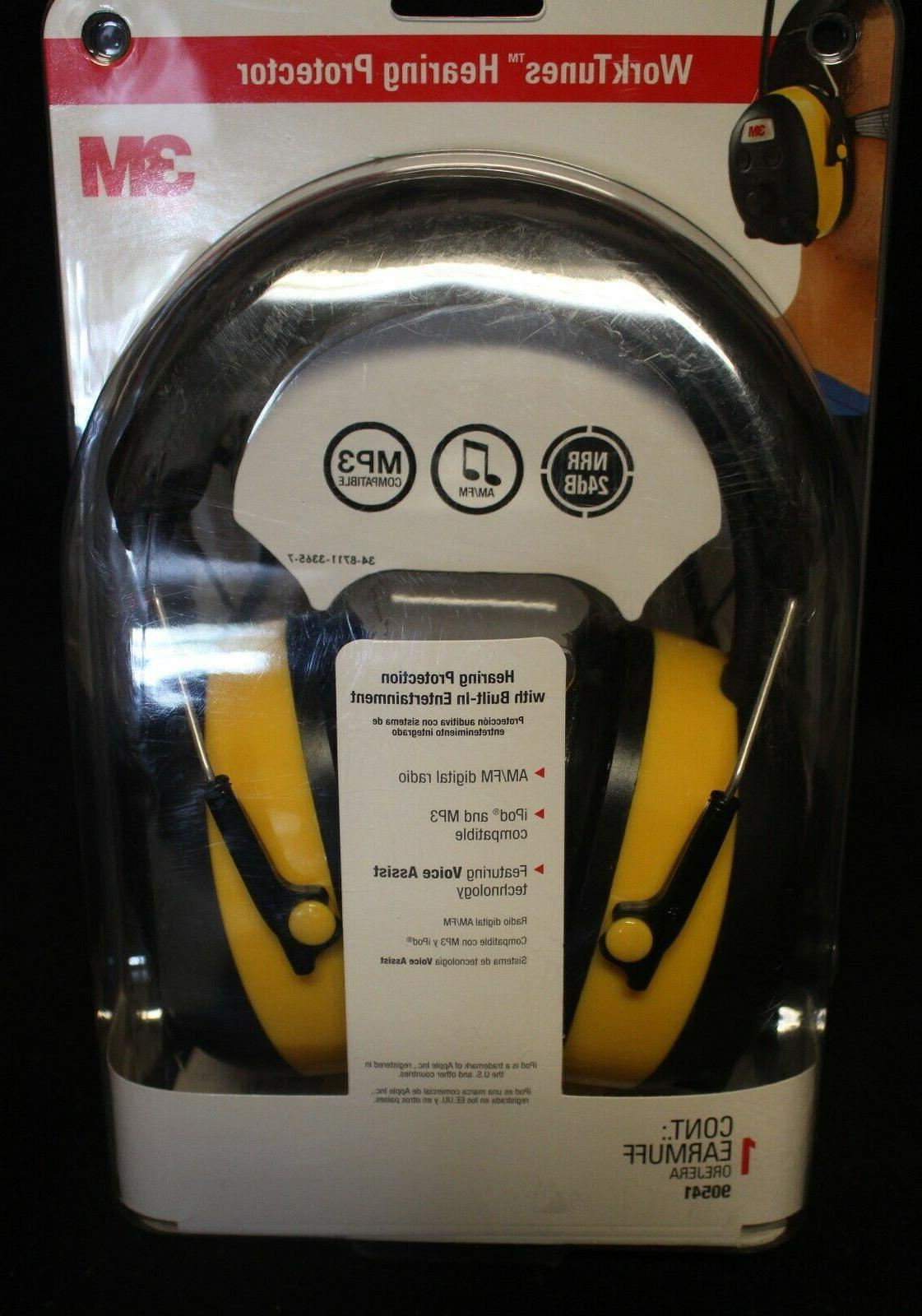 3M Hearing Headphones with AM/FM