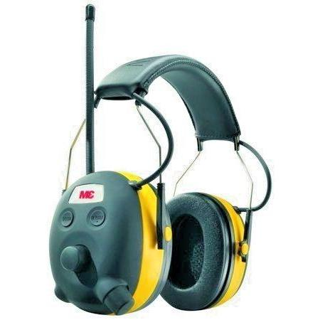3M WorkTunes Protector with AM/FM Pack PLUS Safety Glasses PKG