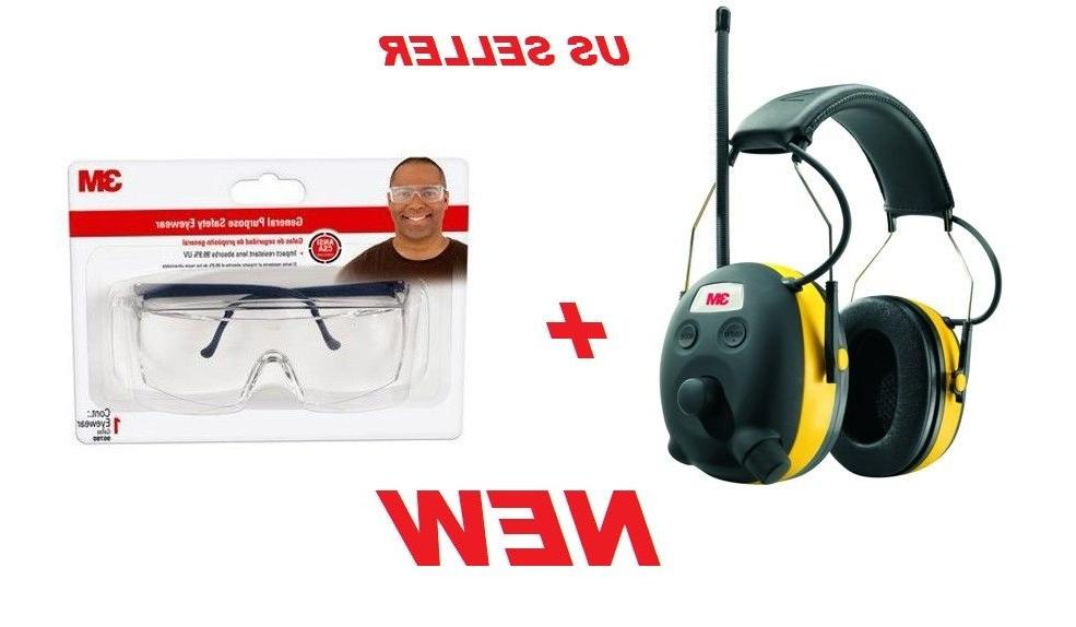worktunes hearing protector with am fm radio